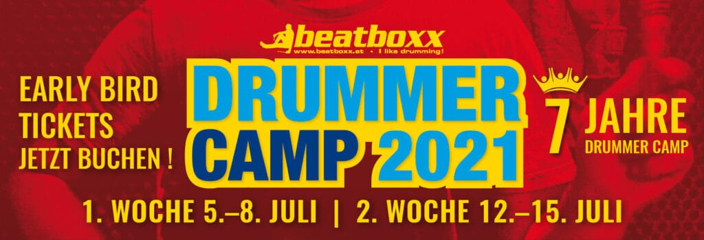Drummer Camp 2021 Informationen